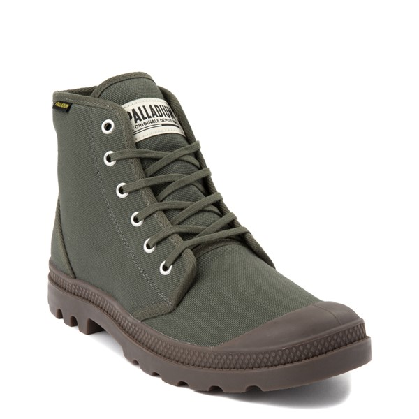alternate view Palladium Pampa Hi Originale Boot - OliveALT5