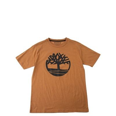 Main view of Timberland Tree Tee - Boys Little Kid - Wheat / Black