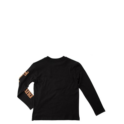 Alternate view of Timberland Tree Long Sleeve Tee - Boys Little Kid - Black / Wheat