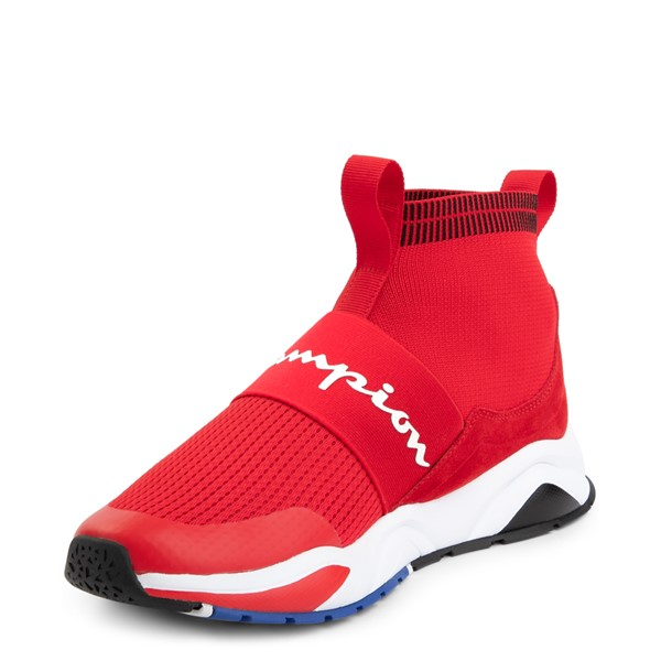 alternate view Mens Champion Rally Pro Athletic Shoe - RedALT2