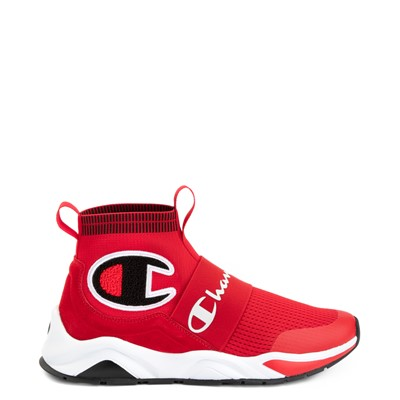 Main view of Mens Champion Rally Pro Athletic Shoe - Red