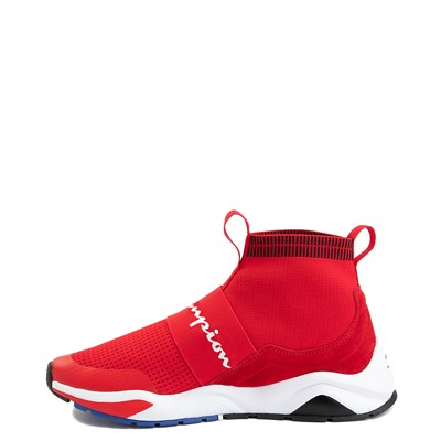 Alternate view of Mens Champion Rally Pro Athletic Shoe - Red