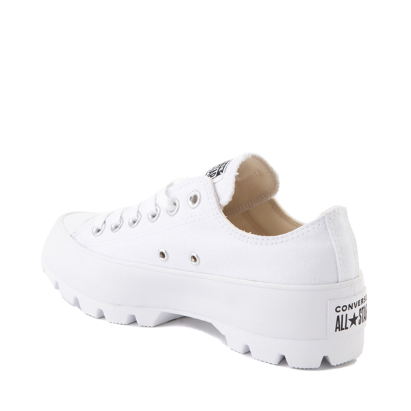 alternate view Womens Converse Chuck Taylor All Star Lo Lugged Sneaker - WhiteALT1