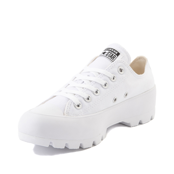 alternate view Womens Converse Chuck Taylor All Star Lo Lugged Sneaker - WhiteALT2