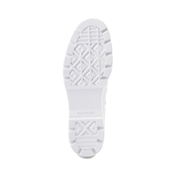 alternate view Womens Converse Chuck Taylor All Star Lo Lugged Sneaker - WhiteALT3