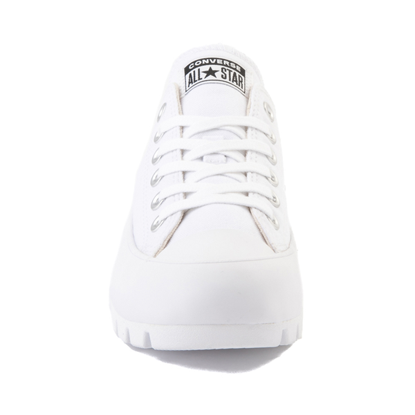 alternate view Womens Converse Chuck Taylor All Star Lo Lugged Sneaker - WhiteALT4