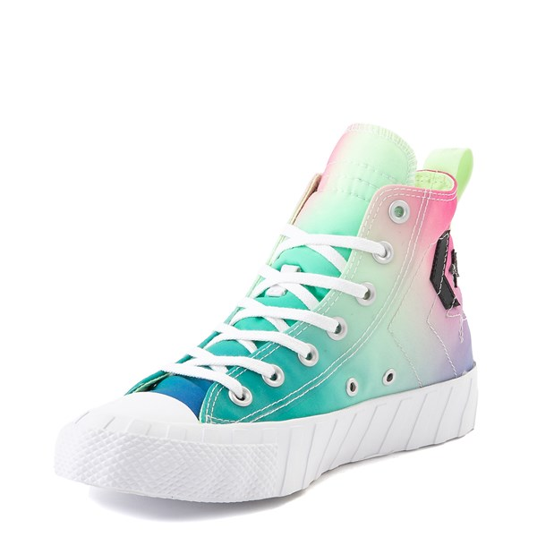 alternate view Converse Chuck Taylor All Star Hi UNT1TL3D Sneaker - White / Barely VoltALT3