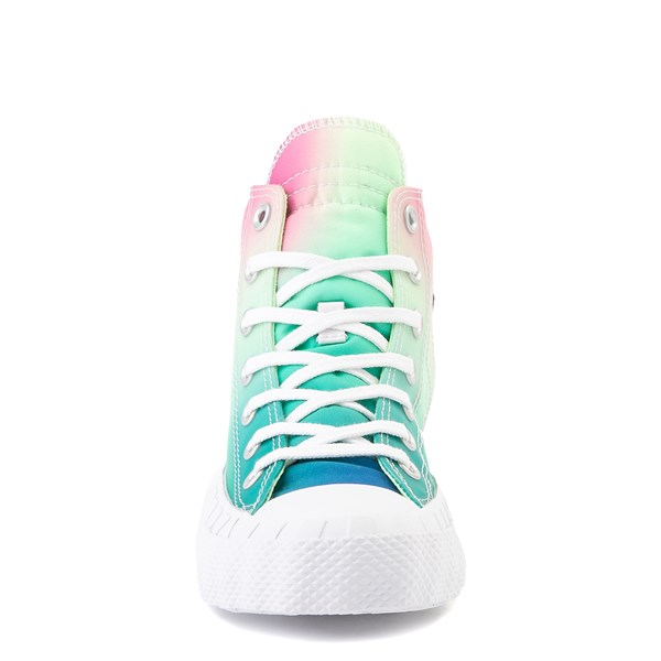 alternate view Converse Chuck Taylor All Star Hi UNT1TL3D Sneaker - White / Barely VoltALT4