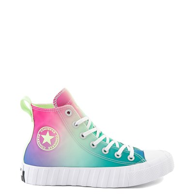 Main view of Converse Chuck Taylor All Star Hi UNT1TL3D Sneaker - White / Barely Volt