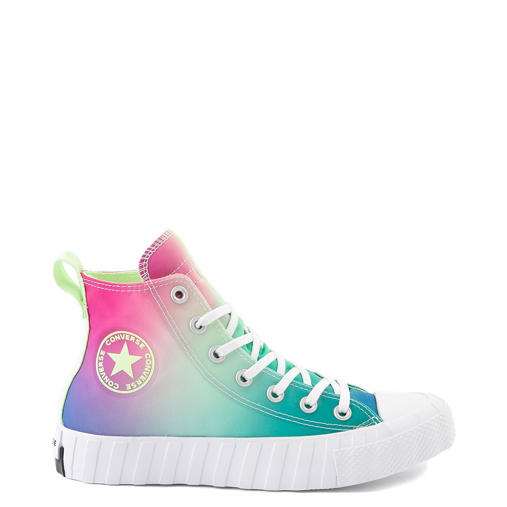 Converse Chuck Taylor All Star Hi UNT1TL3D Sneaker - White / Barely Volt