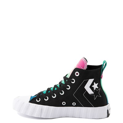 Alternate view of Converse Chuck Taylor All Star Hi UNT1TL3D Sneaker - Black / Cerise Pink