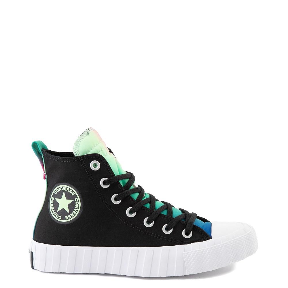 Converse Chuck Taylor All Star Hi UNT1TL3D Sneaker - Black / Cerise Pink