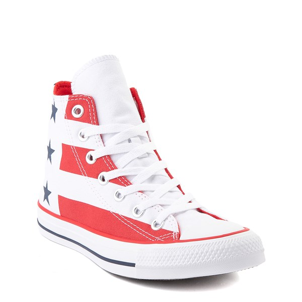 alternate view Converse Chuck Taylor All Star Hi Flag Sneaker - Red / White / BlueALT1B