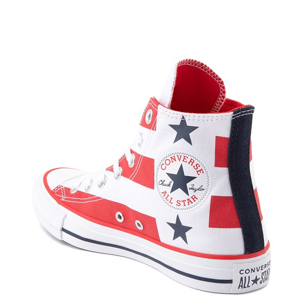 alternate view Converse Chuck Taylor All Star Hi Flag Sneaker - Red / White / BlueALT2