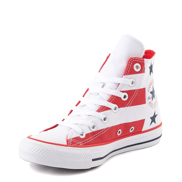 alternate view Converse Chuck Taylor All Star Hi Flag Sneaker - Red / White / BlueALT3