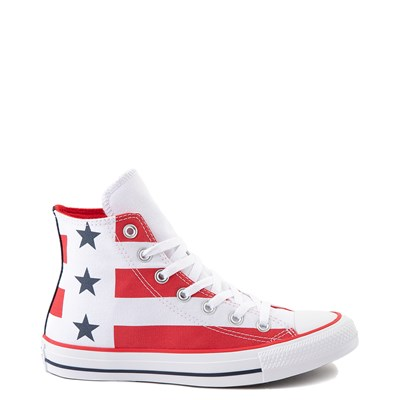 Main view of Converse Chuck Taylor All Star Hi Flag Sneaker - Red / White / Blue