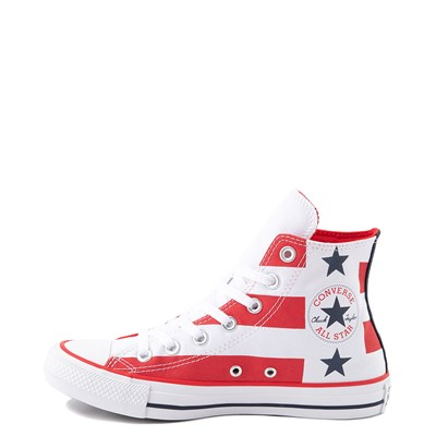 Alternate view of Converse Chuck Taylor All Star Hi Flag Sneaker - Red / White / Blue