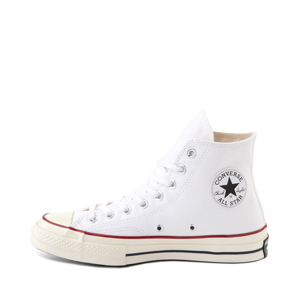 alternate view Converse Chuck 70 Hi Sneaker - White / GarnetALT1