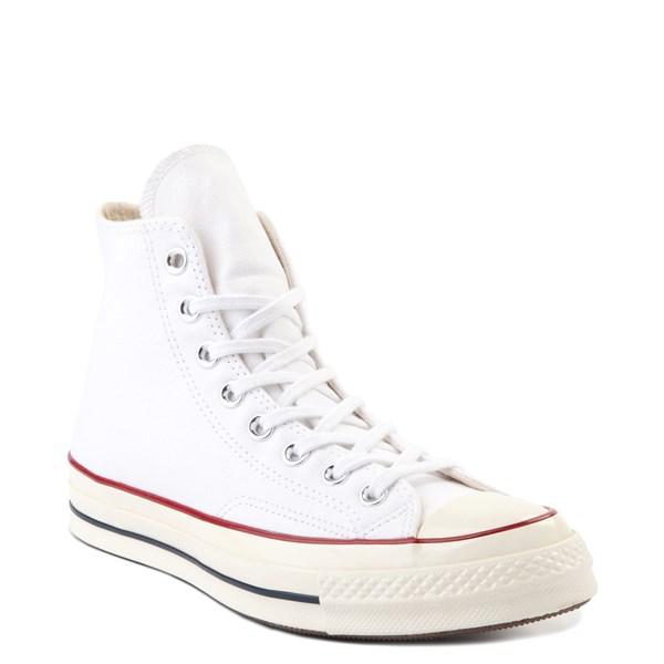alternate view Converse Chuck 70 Hi Sneaker - White / GarnetALT1B