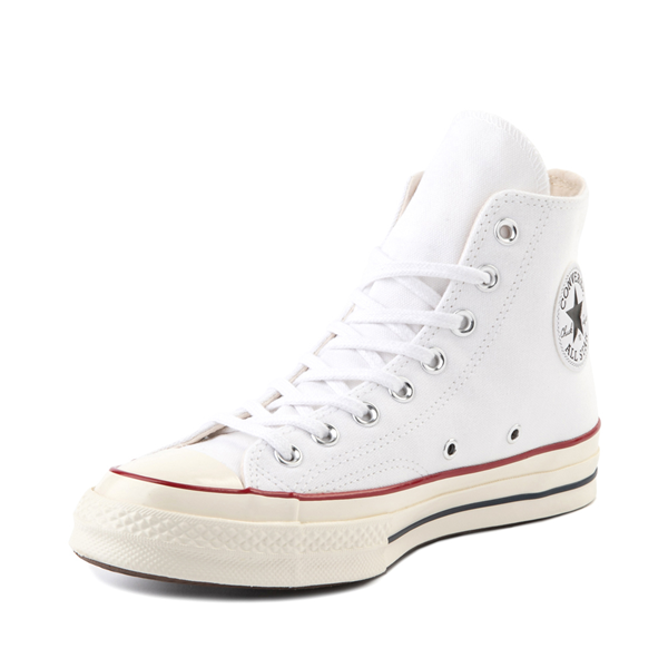 alternate view Converse Chuck 70 Hi Sneaker - White / GarnetALT2