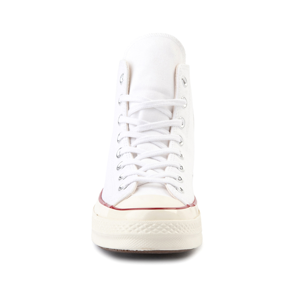 alternate view Converse Chuck 70 Hi Sneaker - White / GarnetALT4
