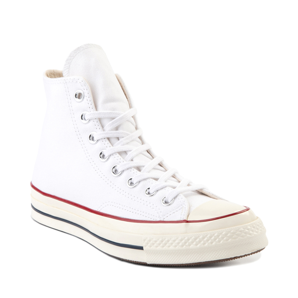 alternate view Converse Chuck 70 Hi Sneaker - White / GarnetALT5
