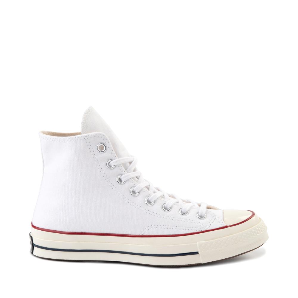 Converse Chuck 70 Hi Sneaker - White / Garnet