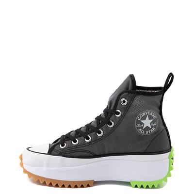 Alternate view of Converse Run Star Hike Platform Sneaker - Black / White / Ghost Green