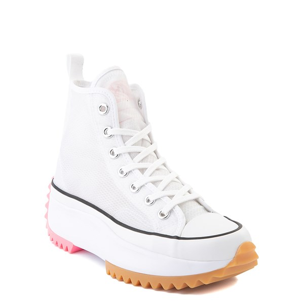 alternate view Converse Run Star Hike Platform Sneaker - White / Electric BlushALT1B