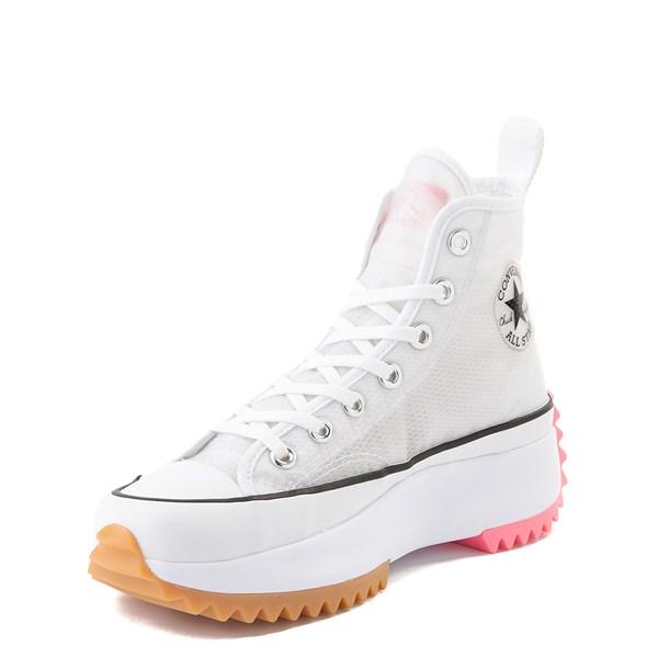 alternate view Converse Run Star Hike Platform Sneaker - White / Electric BlushALT3