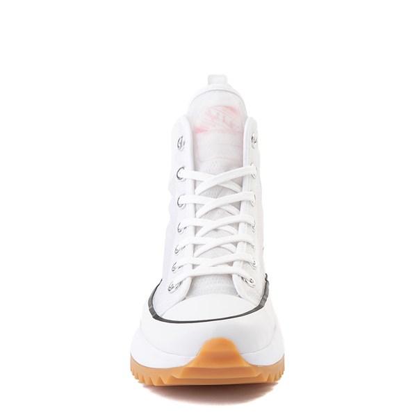 alternate view Converse Run Star Hike Platform Sneaker - White / Electric BlushALT4