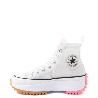 Alternate view of Converse Run Star Hike Platform Sneaker - White / Electric Blush