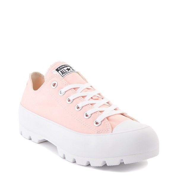 alternate view Womens Converse Chuck Taylor All Star Lo Lugged Sneaker - Storm PinkALT1