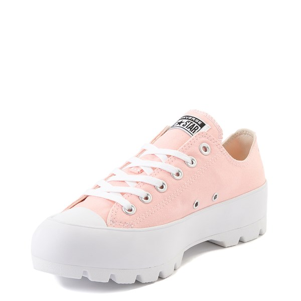 alternate view Womens Converse Chuck Taylor All Star Lo Lugged Sneaker - Storm PinkALT3