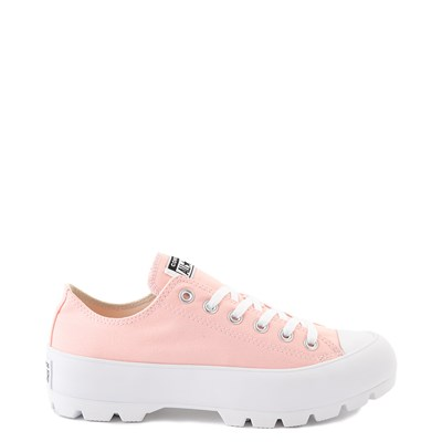 Main view of Womens Converse Chuck Taylor All Star Lo Lugged Sneaker - Storm Pink