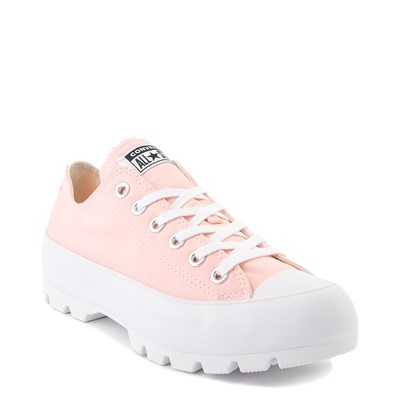 Alternate view of Womens Converse Chuck Taylor All Star Lo Lugged Sneaker - Storm Pink