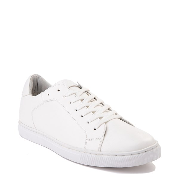 alternate view Mens Floyd Adriano Casual Shoe - White MonochromeALT1