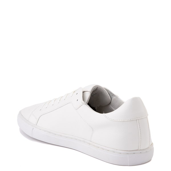 alternate view Mens Floyd Adriano Casual Shoe - White MonochromeALT2