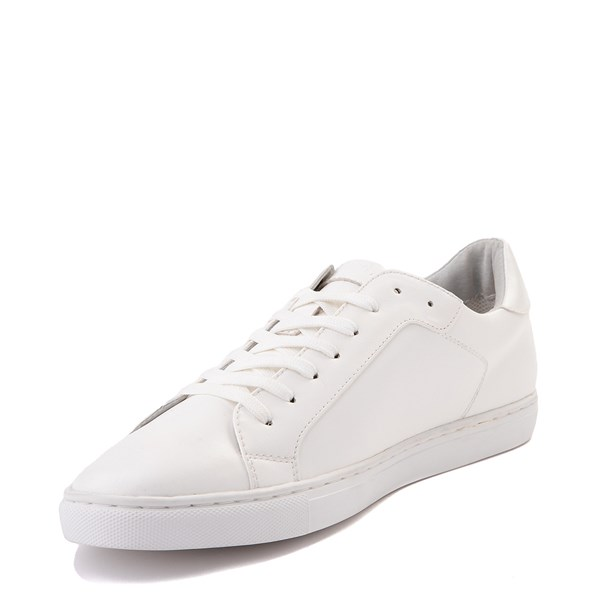 alternate view Mens Floyd Adriano Casual Shoe - White MonochromeALT3