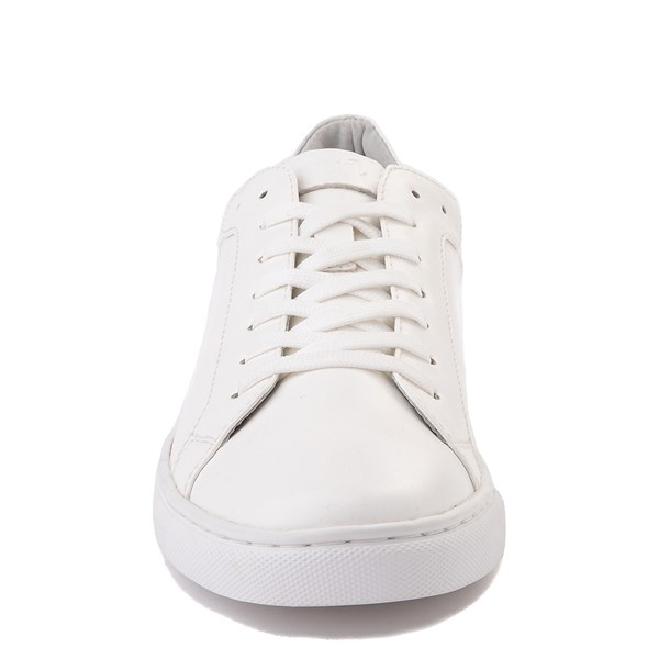 alternate view Mens Floyd Adriano Casual Shoe - White MonochromeALT4