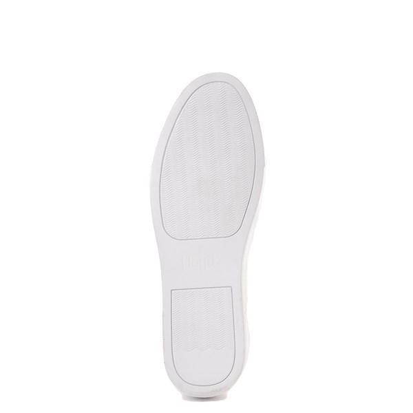 alternate view Mens Floyd Adriano Casual Shoe - White MonochromeALT5