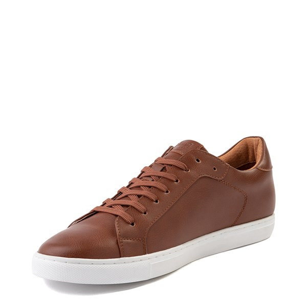 alternate view Mens Floyd Adriano Casual Shoe - CognacALT3