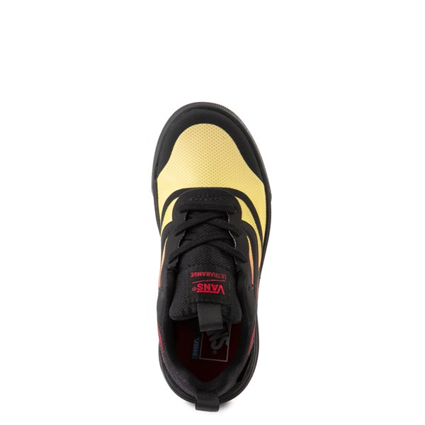 alternate view Vans UltraRange Rapidweld Sneaker - Little Kid - Black / FlameALT4B