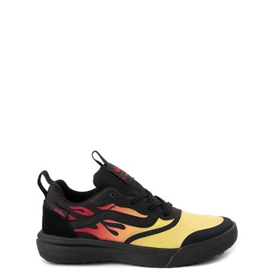 Main view of Vans UltraRange Rapidweld Sneaker - Little Kid - Black / Flame