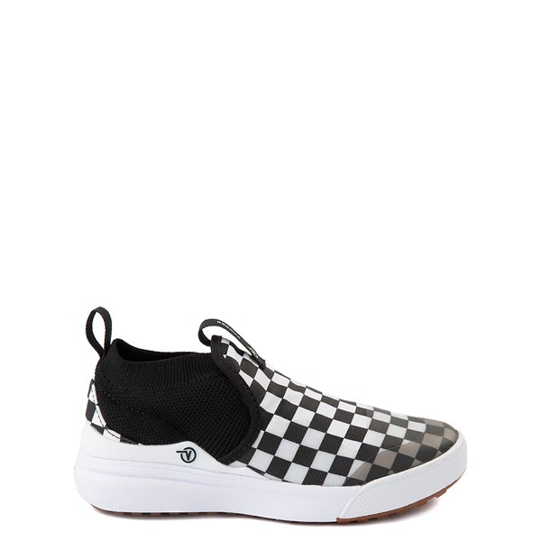 Vans XtremeRanger Checkerboard Sneaker - Little Kid - Black / True White