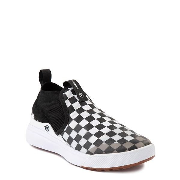 alternate view Vans XtremeRanger Checkerboard Sneaker - Little Kid - Black / True WhiteALT1