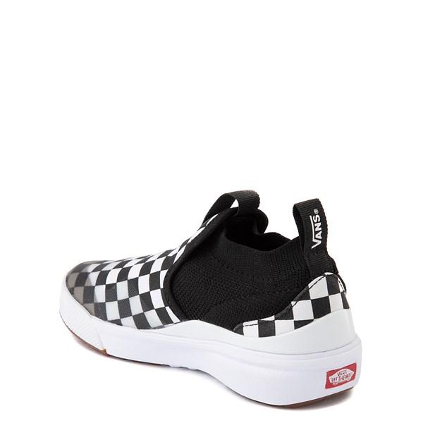 alternate view Vans XtremeRanger Checkerboard Sneaker - Little Kid - Black / True WhiteALT2