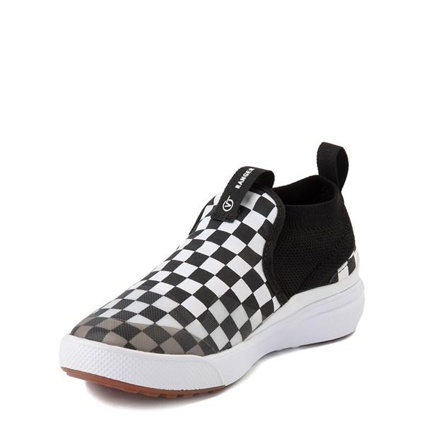 alternate view Vans XtremeRanger Checkerboard Sneaker - Little Kid - Black / True WhiteALT3