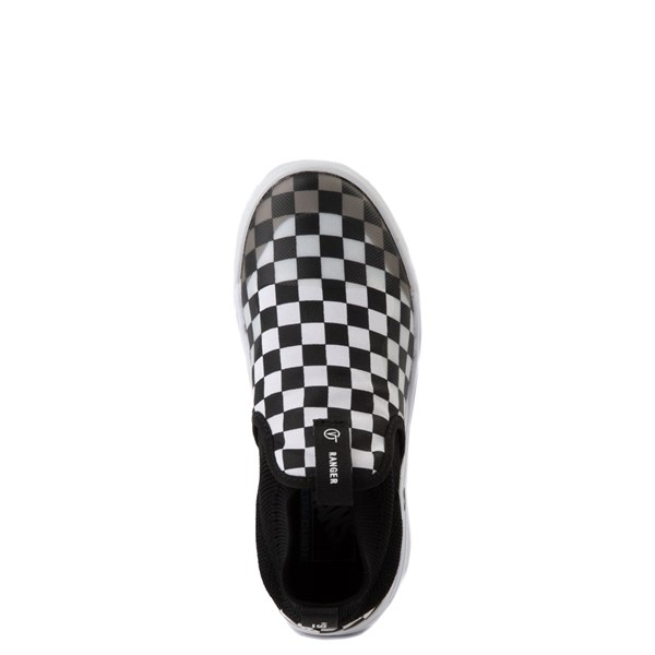 alternate view Vans XtremeRanger Checkerboard Sneaker - Little Kid - Black / True WhiteALT4B