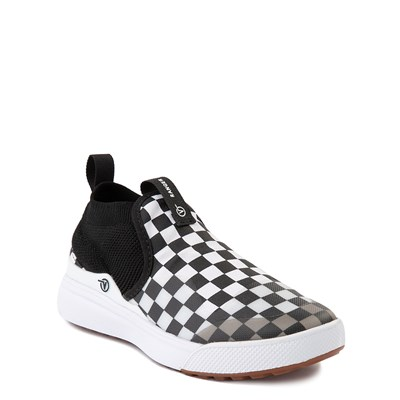Alternate view of Vans XtremeRanger Checkerboard Sneaker - Little Kid - Black / True White